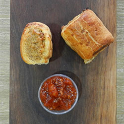 Pork and fennel sausage rolls - mini thumbnail