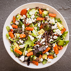 Supercharger salad thumbnail