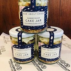 Blueberry pancake cake jar thumbnail