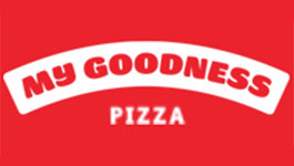 My Goodness Pizza logo