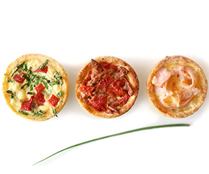 Assorted quiches - mini thumbnail