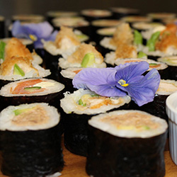 Assorted sushi thumbnail