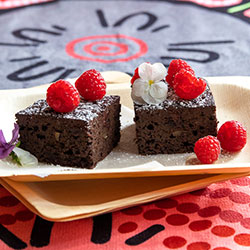 Double chocolate brownies thumbnail