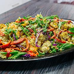 Bush-spiced roast vegetable salad thumbnail