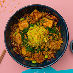 Shoyu tofu poke bowl thumbnail