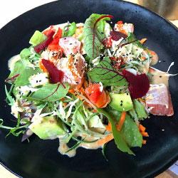 Seared salmon salad thumbnail