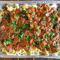 Pappardelle pasta thumbnail