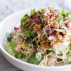Middle Eastern cabbage salad thumbnail