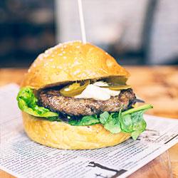 Assorted burger thumbnail