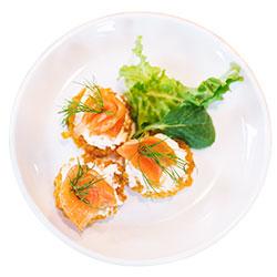 Smoked salmon potato rosti thumbnail