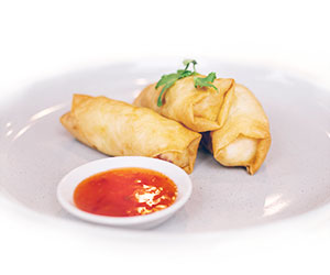 House made vegetable spring roll thumbnail