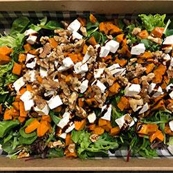 Roasted pumpkin and feta salad thumbnail
