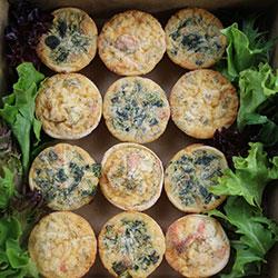 Quiche tartlets - mini thumbnail