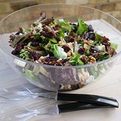 Cranberry, feta and walnut salad thumbnail