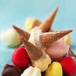 Gelato cones - mini thumbnail
