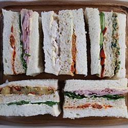 Ribbon sandwich - serves 4 to 5 thumbnail