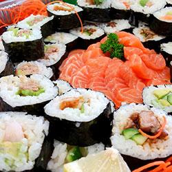 Large gourmet sushi - serves 6 thumbnail