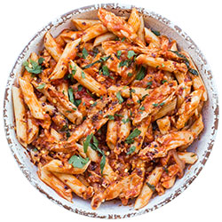 Penne chilli chicken thumbnail