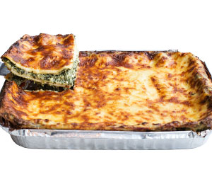 Spinach and ricotta lasagne thumbnail