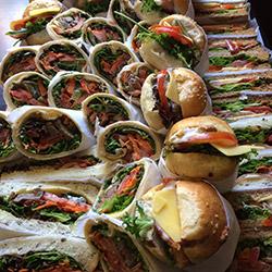 Box of artisan Italian rolls, bread and wraps thumbnail