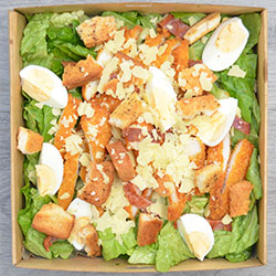 Crumbed chicken Caesar salad thumbnail