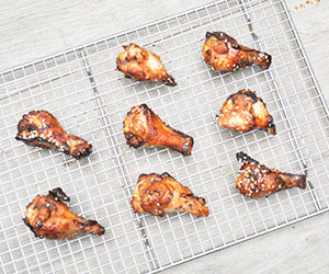 Honey soya chicken drumettes thumbnail