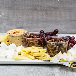 Deluxe fruit, dip and cheese platter thumbnail
