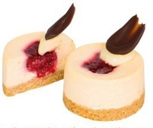 Raspberry white chocolate cheesecake  thumbnail