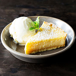 Glazed citrus lemon tart thumbnail