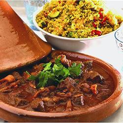 Moroccan lamb tagine thumbnail