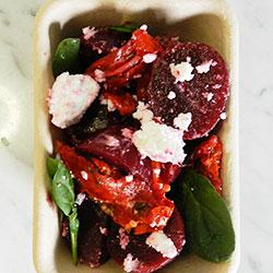 Baby beetroot salad thumbnail