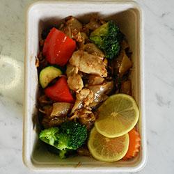 Pad see-eu noodles thumbnail