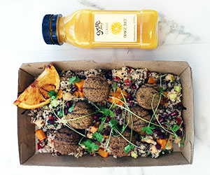 Vegetarian lunch box thumbnail