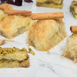 Kataifi classic with walnut - 100g thumbnail