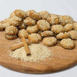 Koolourakia Lathiou - handmade cookies - 25g thumbnail