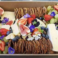 Cheese, dried fruit and nuts platter thumbnail