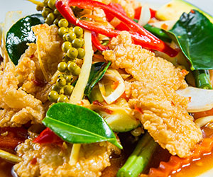 Pad cha fish stir fried thumbnail