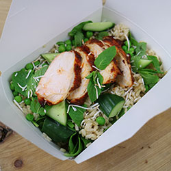 Massaman chicken and brown rice salad thumbnail