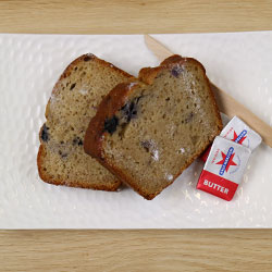 Blueberry and banana bread slice thumbnail