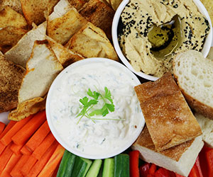 Crudites and dips thumbnail