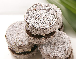 Chocolate lamingtons thumbnail