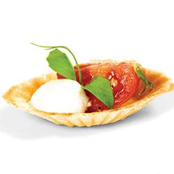 Tomato and bocconcini tartlet thumbnail