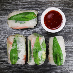 Rice paper rolls - mini thumbnail
