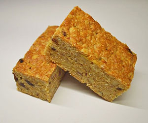 Honey and oat bar thumbnail