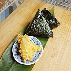 Prawn tempura onigiri thumbnail