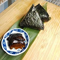 Shiitake (mushroom) onigiri thumbnail