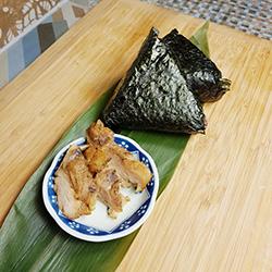 Teriyaki chicken onigiri thumbnail