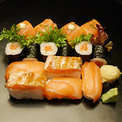 Salmon box - serves 1 thumbnail