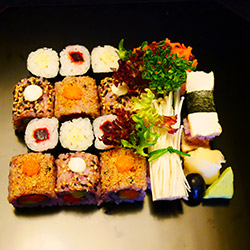 Vegetarian roll box  - serves 1 thumbnail