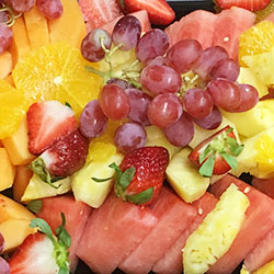Fresh seasonal fruit platter - serves 10 thumbnail